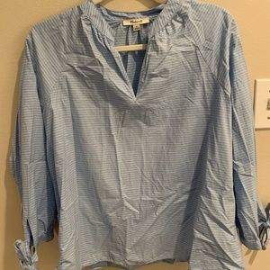 Madewell - Blouse - Blue - Size M